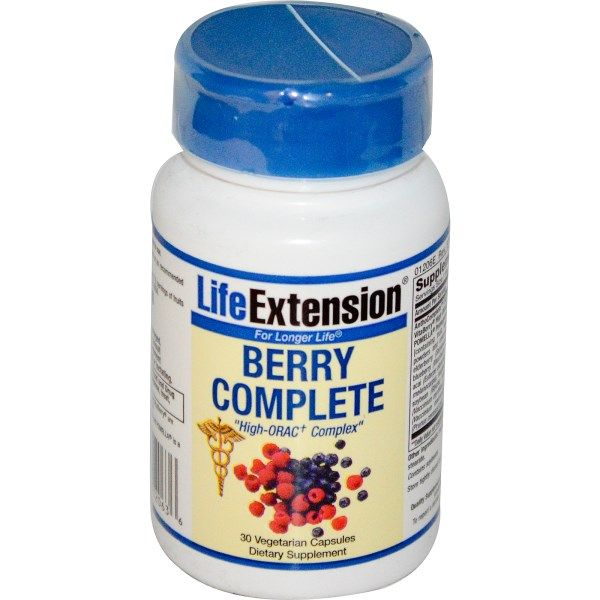 Berry Complete (30 VCaps) * Life Extension
